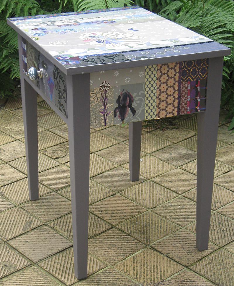 Tischchen die wei e bl te for Weisses tischchen