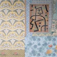 """Schubladentisch """"Art Deco Muster""""  RESERVIERT"""