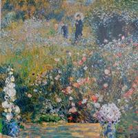 Frauen in ihren Gärten - Augenblicke der Ruhe